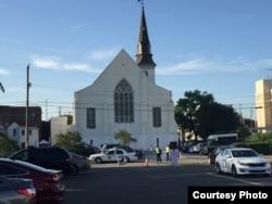 Emanuel African Methodist Episcopal Church in Charleston, South Carolina. (Credit: Toby Smith)