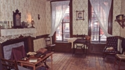 A room in the Gumpertz family apartment at 97 Orchard Street