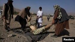 8일 아프가니스탄 마이단샤흐르시의 정보국 건물 앞에서 폭탄 테러가 발생해, 수십명의 사상자가 발생했다.