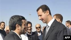 Махмуд Ахмадинежад и Башар аль-Ассад