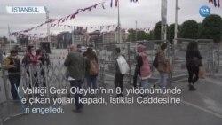Gezi'nin Yıldönümünde Polis Taksimi Kapattı