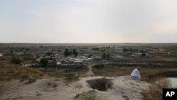 نمایی از روستای اسکی در حومه شهر موصل در شمال عراق - آرشیو