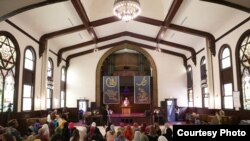 The Women's Mosque in Los Angeles, California holds worship services specifically for women and children.