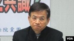 台湾执政党国民党立委赖士葆(美国之音张永泰拍摄)