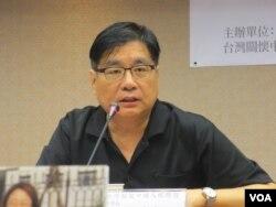 台灣關懷中國人權聯盟理事長楊憲宏(美國之音張永泰拍攝)