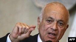 Arab Birliği Genel Sekreteri Nebil Elarabi