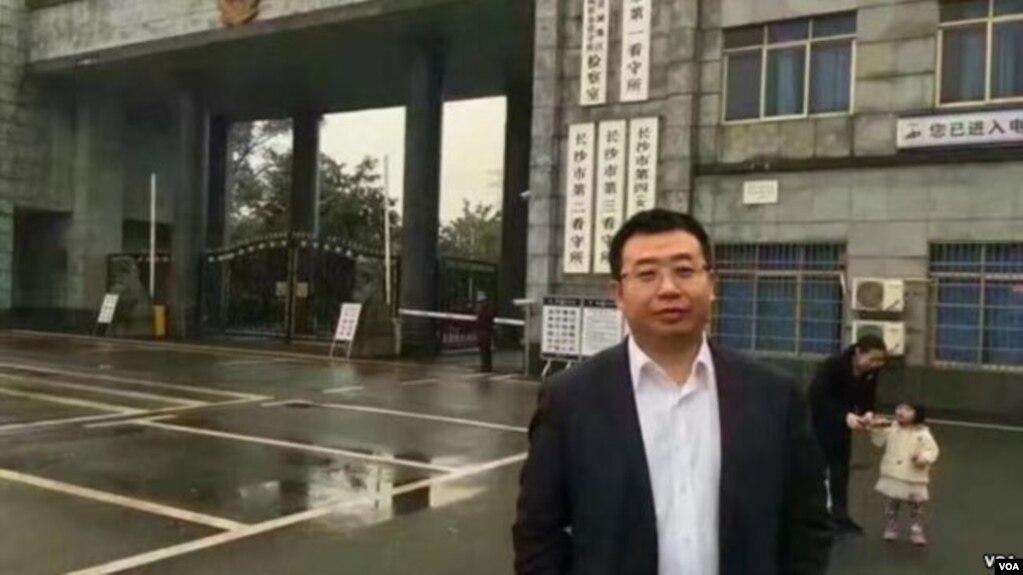 中國維權律師江天勇(網絡圖片)