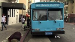 San Francisco Bus Offers Showers for Homeless