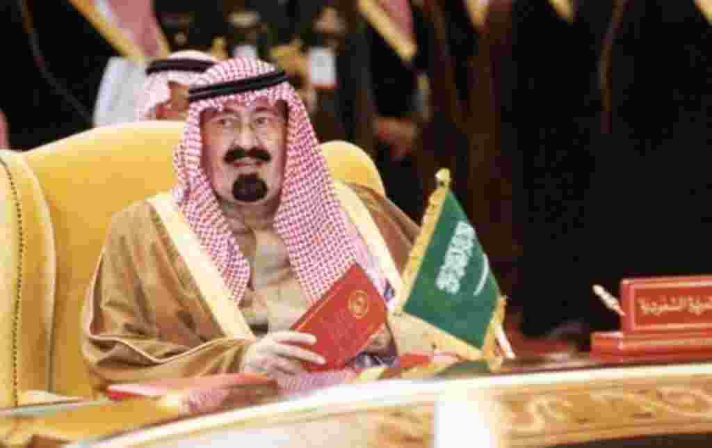 Abdullah Bin Abdul Aziz Al Saud, rey de Arabia Saudita.