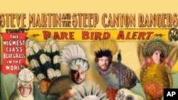 "Steve Martin i s drugim albumom bluegrassa, nakon ""Crow"" - ""Rare Bird Alert"""