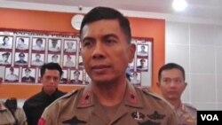 Kapolda Sulawesi Tengah Brigjen Rudi Sufahriadi, yang juga sebagai penanggung jawab Operasi Tinombala 2016 (VOA/Yoanes).