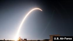 美國太空軍2020年1月6日發射成軍後的首枚火箭(美國空軍照片)
