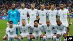 L'équipe de l'Algérie, cuvée 2019.