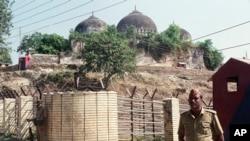 بابری مسجد فائل فوٹو