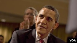 """""""Todos los asuntos de política exterior tienen componentes domésticos, especialmente aquéllos que conciernen países vecinos como Cuba"""", dijo Obama."""