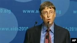 Le milliardaire et philanthrope Bill Gates à Vienne.