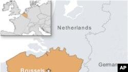 比利时地图