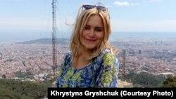 Христина Грищук навчалася в університеті Барселони і досі пов'язана з Каталонією