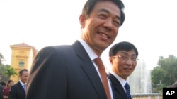 Bo Xilai ( July 2011 file photo)