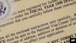 El mandato del Congreso del programa de Lotería de Visas es administrado anualmente por el Departamento de Estado. La sección 203 (c) del acta de Inmigración y Nacionalización habilita hasta 50.000 visas cada año fiscal.