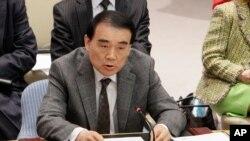 리바오둥 중국 외교부 부부장(자료사진)