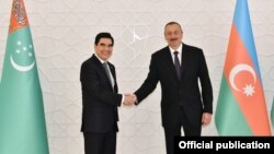 İlham Əliyev və Qurbanqulu Berdiməhəmmədov