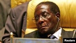 Shugaba Robert Mugabe na Zimbabwe.