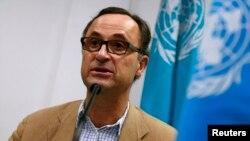 Mayor Jenderal Patrick Cammaert dari Belanda, Ketua Tim Pemantau gencatan senjata di Yaman.