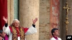 组图:天主教宗宣布退位