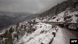Архив: Пакистан, горная дорога