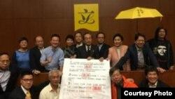 泛民主派立法会议员举行记者会(博讯网图片)