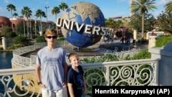 Парк Universal в Орландо, Флорида. Фото автора