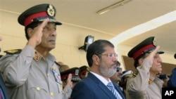 埃及總統穆爾西(資料圖片)