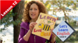 Let's Learn English - Level 2 - Lesson 12: Run! Bees!