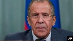 Sergueï Lavrov a fustigé les manoeuvres diplomatiques des Etats-Unis à l'ONU sur la Syrie