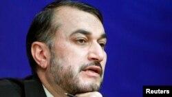 حسین امیرعبداللهیان وزیر امور خارجه ایران - آرشیو
