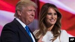 Donald Trump da Matarsa Melania
