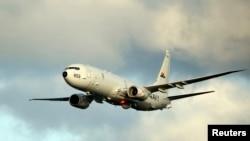 """美国海军2012年5月23日公布的P-8 A """"海神""""号侦察机"""
