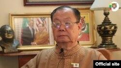 SNLD ဥကၠဌ ဦးခြန္ထြန္းဦး (ဓါတ္ပံု-Shan Nationalities League for Democracy)