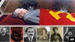 水晶棺里的共产党领导人