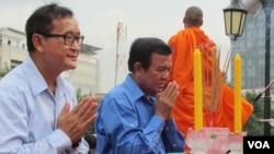 Phe đối lập Campuchia tổ chức 'huấn luyện' biểu tình