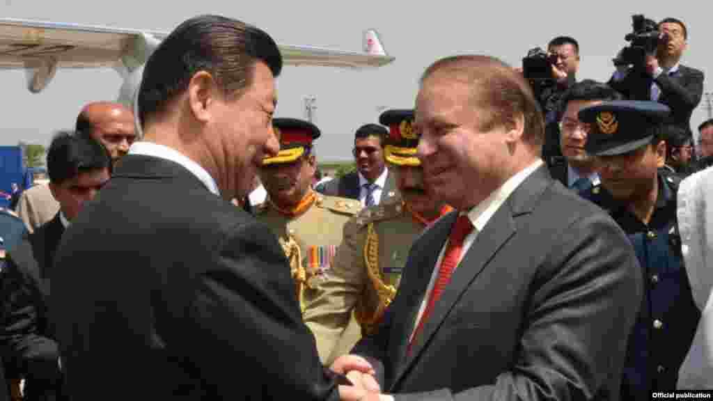 نو سالوں میں یہ کسی بھی چینی صدر کا پاکستان کا پہلا دورہ ہے۔