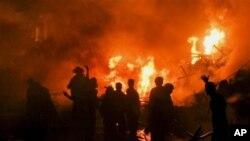 俄羅斯貨機在巴基斯坦墜毀