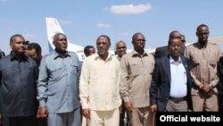Des ministres somaliens en visite dans la ville de Galgadud