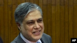 وفاقی وزیر خزانہ اسحق ڈار (فائل فوٹو)