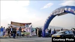 ڈریگ ریس کا ایک منظر