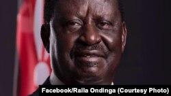 Le leader et candidat de l'opposition Raila Odinga, Nairobi, Kenya, 30 mars 2017. (Facebook/Raila Odinga)