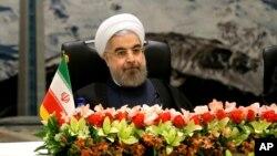 El presidente iraní Hassan Rouhani ha trazado su propia línea roja con el programa nuclear de su país.