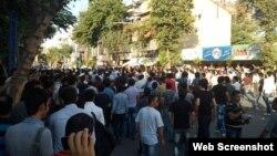 تجمع روز سه شنبه معترضان در تبریز