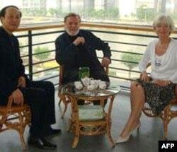 奈斯比特夫妇和中国官员